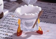 Speedy & Friends Eierbecher Mimie die Küchenfee Speedy & Friends Eierbecher Mimie - Der Eierbecher für die perfekte Hausfrau, Köchin oder Mama! Ein lustiges Geschenk, nicht nur zum Muttertag oder als Osterpräsent zu einer Essenseinladung! Original Speedy & Friends Eierbecher Mimie die Küchenfee Mamas Eierbecher als Köchin Hersteller Casablanca hochwertiges Polymaterial handbemalt, Sammlerstück erschienen 2001 -Rarität- es werden keine weiteren mehr nachproduziert!