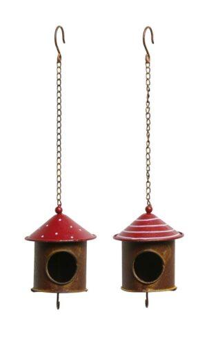 Metall Vogelhaus Meisenknödelhalter - Futterstation zum Aufhängen