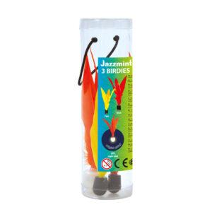 Schildkröt Jazzminton Birdies, 3er Pack LED Ball für Nightplay - Ersatzfederbälle
