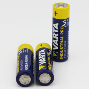3x Varta AA Batterien z.B. für Single LED Stern - VARTA Industrial Batterie AA Mignon Alkaline Batterien LR6