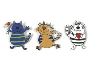 Mila Magnet Katze Garfield - Metall