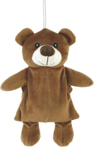 Wärmekissen Bär Wärmetier Kuscheltier - Plüschtier Teddybär - Stofftier mit Keramikkugel-Füllung zum Herausnehmen