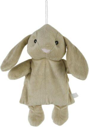 Wärmekissen Hase Kuscheltier - Plüschtier Häschen - Stofftier mit Keramikkugel-Füllung zum Herausnehmen