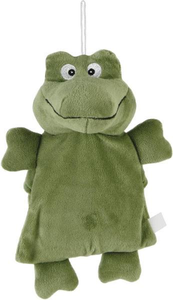 Wärmekissen Krokodil Kuscheltier - Plüschtier Kroko - Stofftier mit Keramikkugel-Füllung zum Herausnehmen