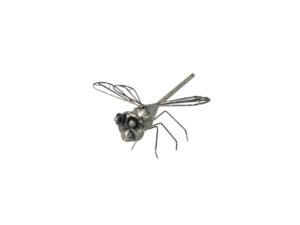 Eisen Deko Skulptur Libelle - Metallkunst