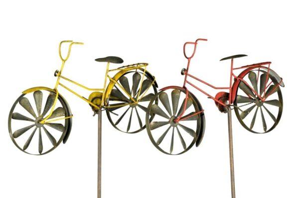 Windspiel Damenrad - Gartendeko Windrad Fahrrad Gartenstecker 421167-050-994_s