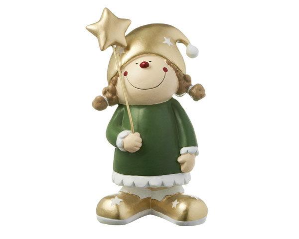 Mila Fröhliche Weihnacht Dekofigur Gartenzwerg Herr Fröhlich und Frl. Lustig in Geschenkbox