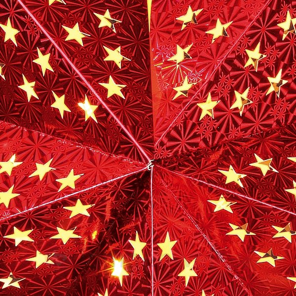 stern leuchtstern gold rot papierstern 40 cm. Black Bedroom Furniture Sets. Home Design Ideas