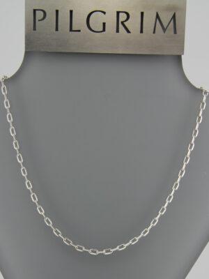 Pilgrim Charms Basic Kette silber - Bettelkette lang oder kurz - Verlängerungskettchen