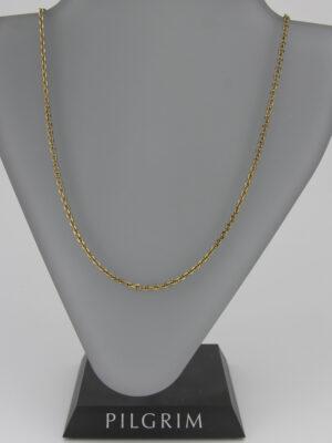 444951 Pilgrim schlichte Kette gold 68cm.