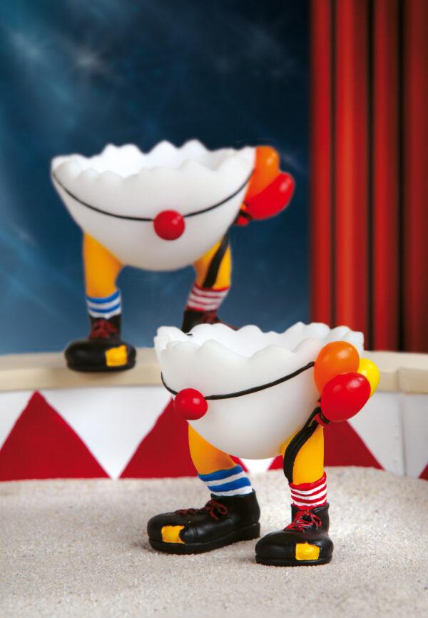 Speedy & Friends Eierbecher Peppi der Clown - Zirkus