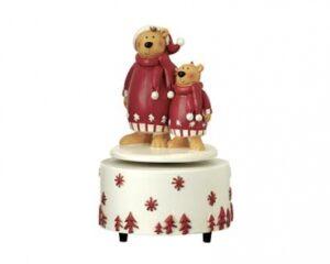 Mila Spieluhr - Drehspieluhr - Musikspieluhr zwei Bären
