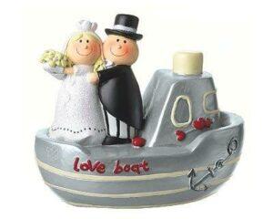 Mila Hochzeitsboot - Figur Hochzeitspaar auf dem Boot 45883 Love Boat