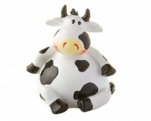 Mila mini Kuh Adelheid - mini Figur Ostfriesische Milchkuh 46028