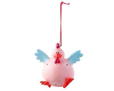 Mila Figur Huhn - Crazy chicken - verrückte Hühner zum Aufhängen