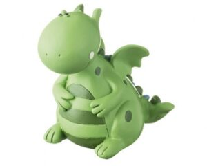 Mila Figur Samy Saurus - Dinosaurier- Drache - Dekofigur aus Resin