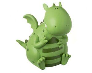Mila Drache Figur Samy Saurus - Dinosaurier Dekofigur aus Resin