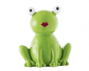 Mila Frosch Dekofigur - Kiss mee Froschmädchen in Geschenkbox