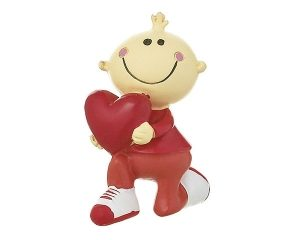 Mila Mr. Smile Figur - I Love you - Liebesbote in Geschenkbox