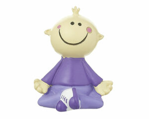 Mila Mr. Smile Relax Yoga Figur in Geschenkbox