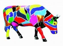 CowParade small Cow Art Mini Kuh - Rarität 46306.jpg