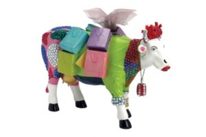 Cowparade - Ms. Moolevard - XL Cows (Resin) - Xl Kuh - Extra Large