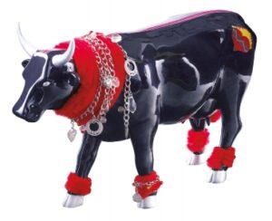 CowParade Large Haute Cowture große Mode Laufsteg Kuh - Haute Couture