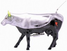CowParade small Safety Cow Mini Kuh