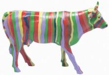 CowParade small Alfredka - bunte Mini Kuh - Rarität