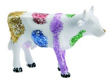 CowParade small Dedona cow - Glitzer Kuh - V. Escoto de Monraz