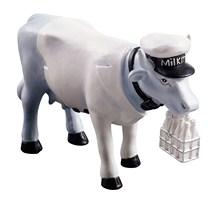 CowParade small Vaca Milkman Mini Kuh Milchmann