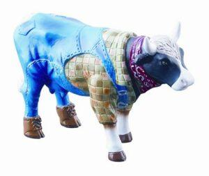 CowParade Farmer Cow Mini Kuh Landwirt