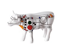 CowParade small Cow Frank Llyod Wright