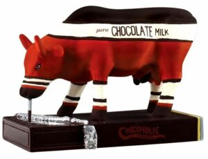 Chocoholic - CowParade original - small