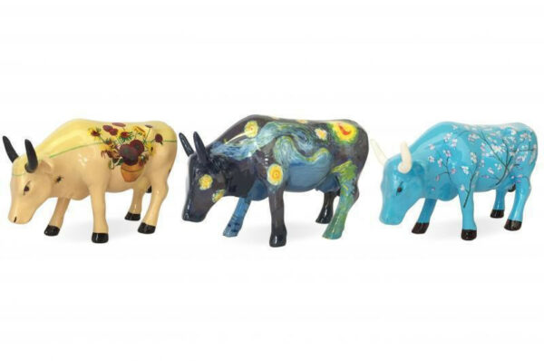 Cowparade Vincent Van Gogh Collectables Artpack Sunflowers, Vincent's Cow, For Vincent 46601