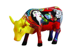 Cowparade Hommage to Picowso's African Period Pablo Picasso