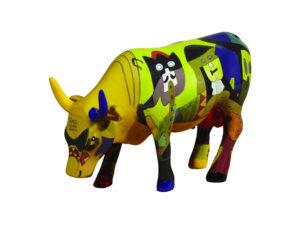 Cowparade Picowso's Moosicians Pablo Picasso