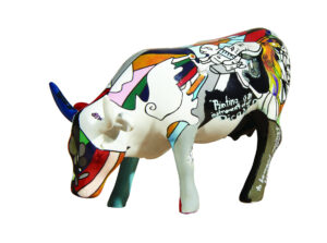 Cowparade Picowso's School for the Arts Pablo Picasso