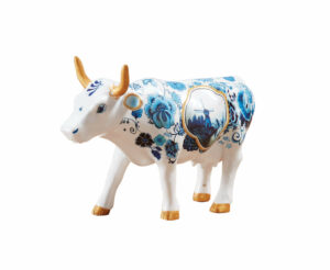 Cowparde Blue Cow Bone China 46603