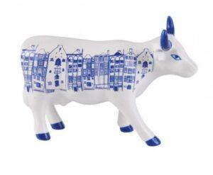 Cow Parade Amsterdam Cow medium - mittlere Kuh / CowParade Designerkühe von der weltgrössten Wanderkunstausstellung