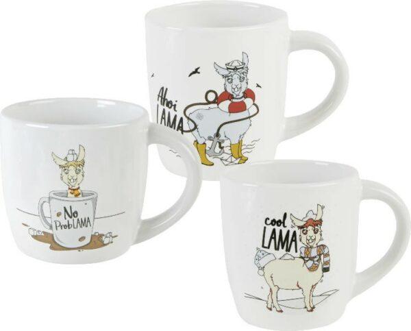 Becher Lama - Kaffeebecher Alpaka - Tasse Kamel