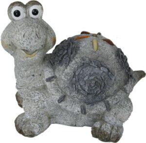 Schildkröte Deko Stein Look - Keramik wetterfest