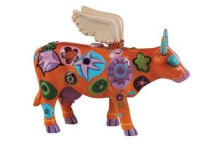 Angelicow Cowparade Kuh Schutzengel Medium