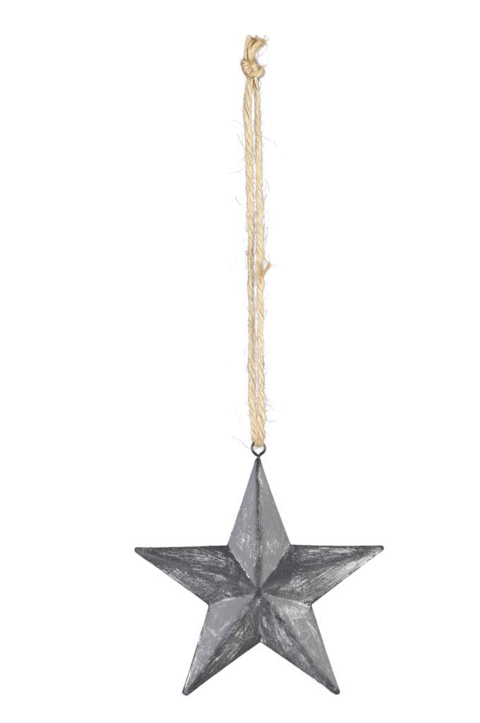 Metall stern zum h ngen dekoration f r innen und au en for Dekoration innen