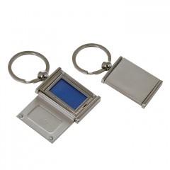 Portrait Foto Schlüsselanhänger aus Edelmetall - silber - Gravurfähig - Schlüsselring Fotobuch