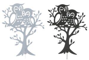 Schmuckständer Eule - Schmuckhalter - Kettenständer - Schmuckbaum Eulenpaar