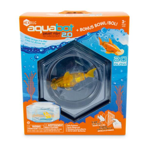 Hexbug Aquabot 2.0 with Hex Bowl - Roboterfischh mit Aquarium / Wasserbehälter