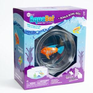 Hexbug Aquabot 2.0 - Roboterfisch mit Dekoration, Aquarium / Wasserbehälter