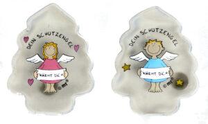 Taschenwärmer Schutzengel - Handwärmer Taschenheizkissen