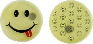 Taschenwärmer Smiley - Handwärmer Taschenheizkissen - lachendes Gesicht - 2er Set